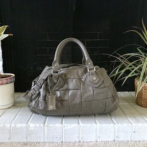 Marc by Marc Jacobs Gray Groovee Satchel